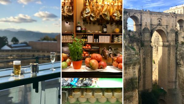 Drinks at Catalonia Hotel, Casa Ortega & Ronda's New Bridge