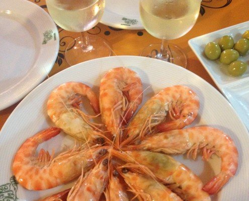 Tapas Tours Sherry Prawns