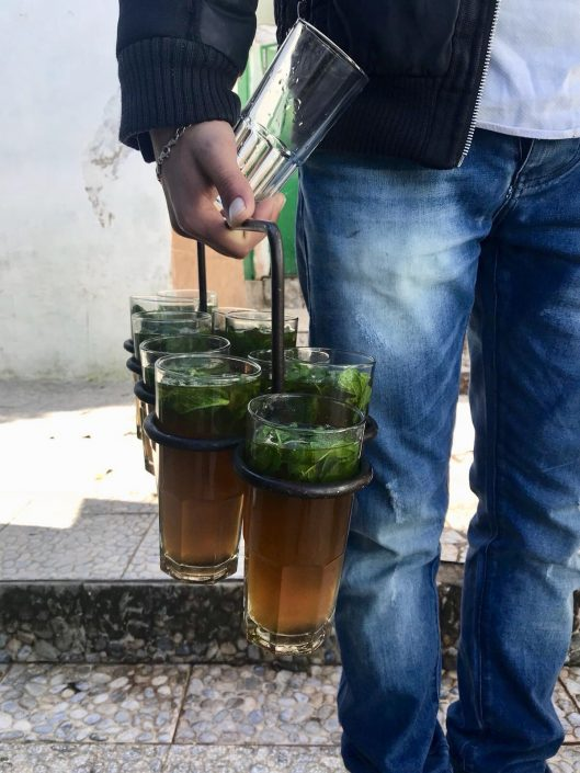 Mint Tea in Tangiers