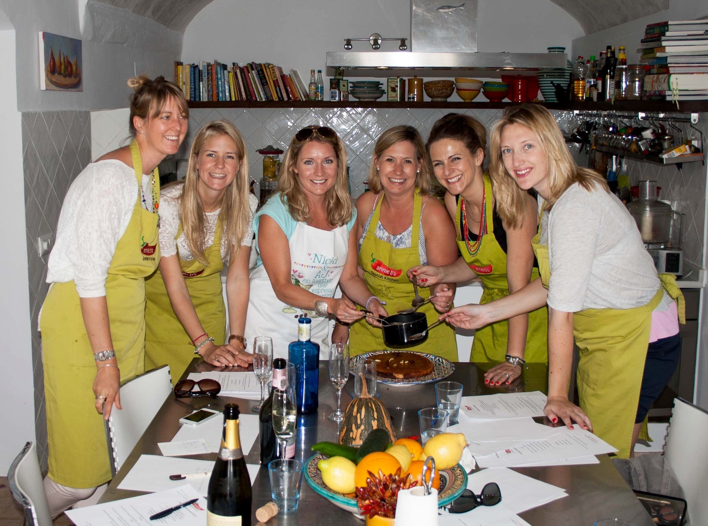 cooking holidays in spain with annie b s spanish kitchen