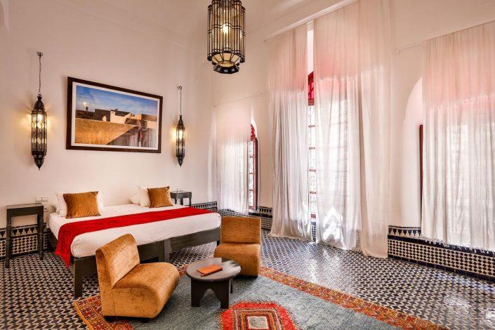 Bedroom of Dar Bensouda, Marrakech