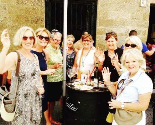 Sherry tour - lunch in Cadiz