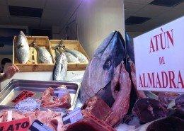 Tuna at the fish market