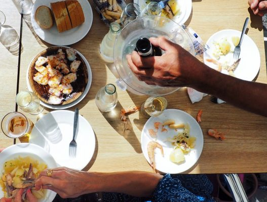 Seafood & Sherry feast