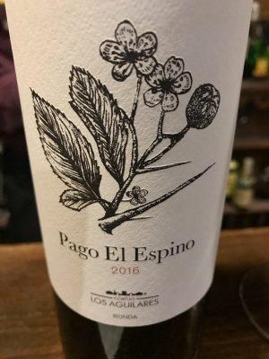 Pago El Espino Wine