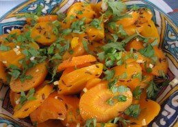 carrots with cumin and parsley