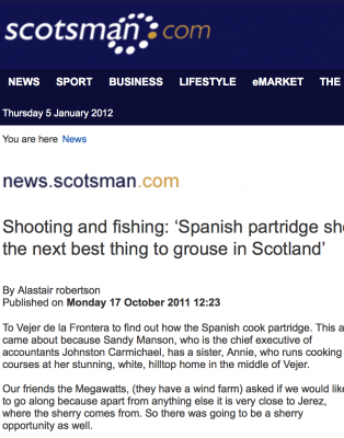 The Scotsman Press - Oct 2011