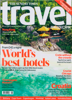 Sunday Times Travel Aug 2018