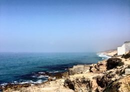 Tangier coastline