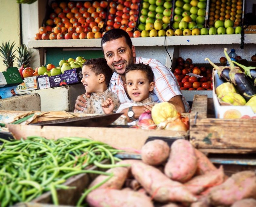fruit and vegetable market Tangier