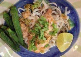 fish spring onions ginger dish