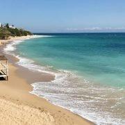 The beach at Los Caños de Meca. Best beaches in Cadiz