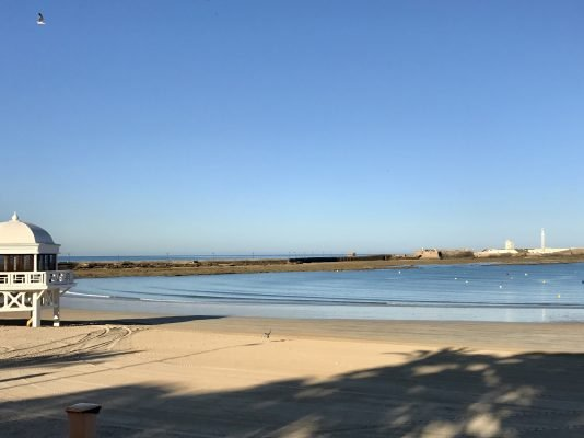 Playa de la Caleta beach, Cadiz