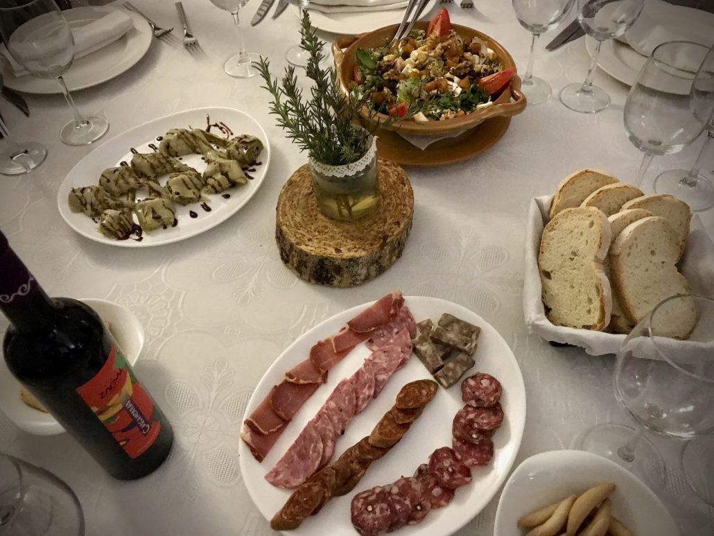 Lunch at Meson Tio Tobas, Granada