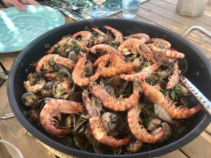 Black Rice, Annie B's Spanish Kitchen, Vejer