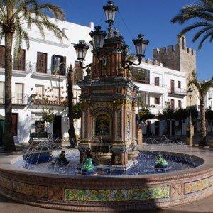 Plaza de Espana, Vejer