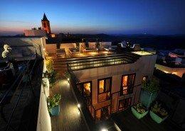 roof terrace hotel v