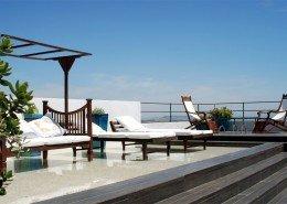 Sun Loungers at Hotel V - Vejer de la Frontera