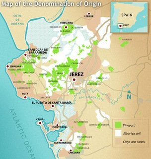 sherry triangle map