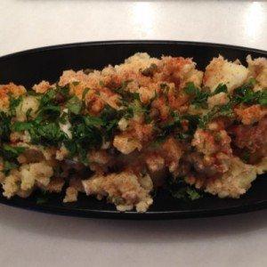 Tuna potato salad parsley